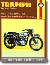 Triumph bicylindre de 1947 à 1962
