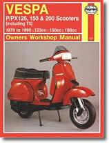 Vespa 90 - 125 - 150 - 180 - 200