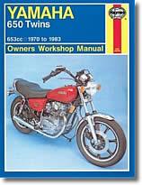 Yamaha XS1, XS1B, XS2, XS 650 et TX 650