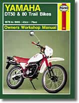 Yamaha DT 50 et DT 80 (Trails) - (1978-1995)