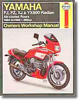 Yamaha FJ, FZ, XJ et YX 600 Radian (1984-1992)