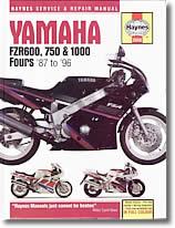 Yamaha FZR 600 et FZR 600 R