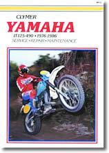 Yamaha IT 125, 175, 200, 250 et 400 cm³