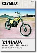 Yamaha 80 à 175 cm³ Piston Port