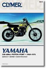 Yamaha 250 à 400 cm³, Piston Port