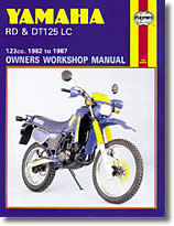 Yamaha RD 125 LC et DT 125 LC