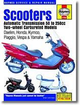 Scooters Yamaha de 50 cm³ à 200 cm³