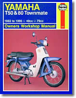 Yamaha Townmate T50, T80
