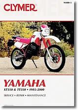 Yamaha XT 350 et TT 350