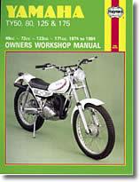 Yamaha TY, 50, 80, 125 et 175 cm³