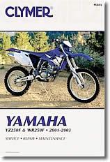 Yamaha YZ 250 F et WR 250 F