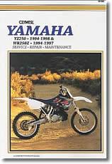 Yamaha YZ 250 et WR 250 Z