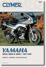 Yamaha XJ 550, 600 et FJ 600