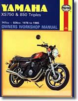 Yamaha XS 750 et XS 850 (1976 à 1985)