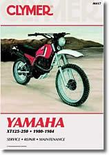 Yamaha XT 125, 200 et 250