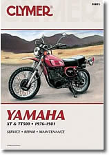 Yamaha XT 500 et TT 500
