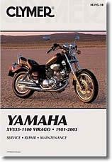 Yamaha XV Virago 750 à 1100 (1984 à 1999)