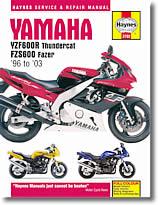 Yamaha YZF 600 R Thundercat et FZS 600 Fazer