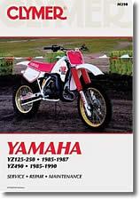 Yamaha YZ 125 et 250