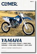 Yamaha YZ 400 et WR 400