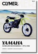 Yamaha YZ 465 et YZ 490