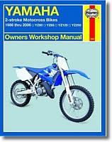 Yamaha YZ 80, 85, 125 et 250 cm³