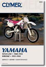 Yamaha YZ, WR, 125 et 250