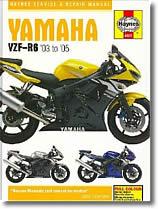 Yamaha YZF R6 (2003 à 2005)