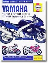 Yamaha YZF 750 R, SP et YZF 1000 R