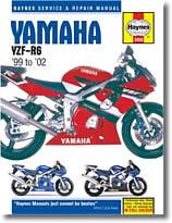 Yamaha YZF R6 (1999 à 2002)