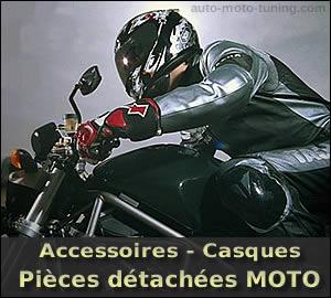 Pièces détachées et accessoires pour motards