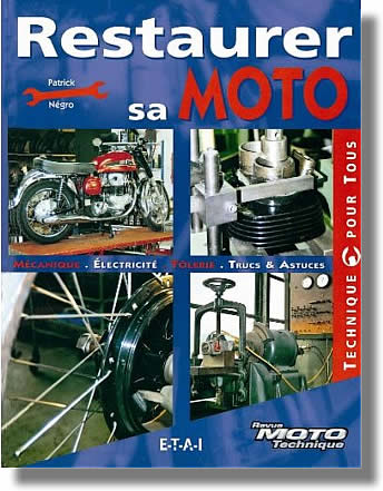 Restaurer sa moto avec méthode et soin