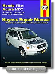 Revue technique Acura MDX (2001-2007) - Haynes
