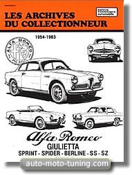 RTA Archive Alfa Romeo Giulietta (depuis 1954)