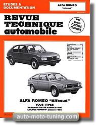 Revue technique Alfa Romeo Sprint (jusqu'à 1985)