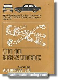 Revue technique Audi 100 (1969-1972)