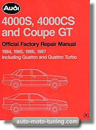 Revue technique Audi 4000 (1984-1987)