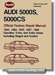 Revue technique Audi 5000 (1984-1988)