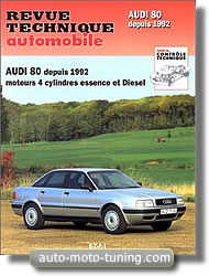 Revue Audi 80 (4 cylindres)