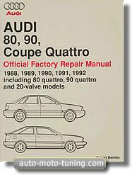 RTA Audi 80 et Audi 90, Coupé et Quattro