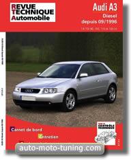 RTA Audi A3 (depuis 1998)