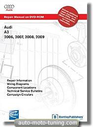 DVD Audi A3 sur DVD (2006-2009)