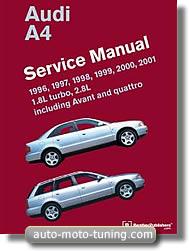 RTA Audi A4 (depuis 1996)