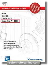 DVD Audi A4 (depuis 2009)