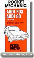 Revue technique Audi Fox depuis 1979