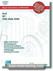 Revue technique Audi Q7