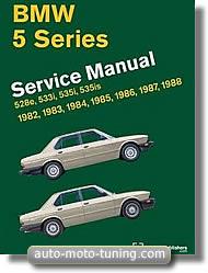 Revue technique BMW 528 et 535