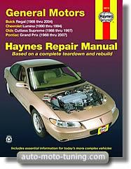 Revue technique Buick Regal (1988-2004)