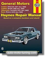 Revue technique Buick Riviera (1979-1985)