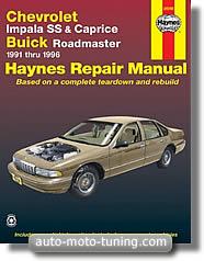 Revue technique Buick Roadmaster (1991-1996)